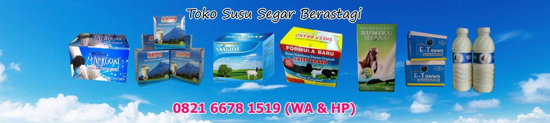 Distributor Susu Kambing Etawa Bubuk dan Segar