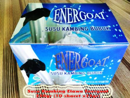 Susu Kambing Energoat Pekanbaru